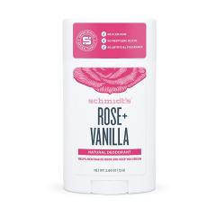 Deodorant stick, Rose+Vanilla, gama regular, 75gr, Schmidt's