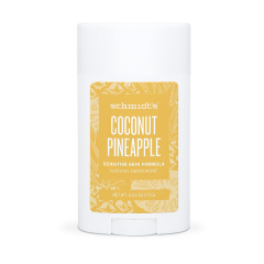 Deodorant stick, Cocos si Ananas, gama sensitive, 75gr, Schmidt's