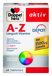 Aktiv A-Z Luteina x 60tb, Doppelhertz