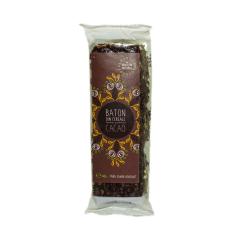 Baton cacao cu indulcitor natural  (stevie si erytritol) ,40g, SWEETERIA