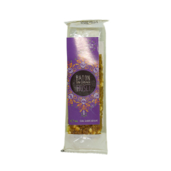 Baton musli cu indulcitor natural (stevie si erytrithol) ,40g ,SWEETERIA