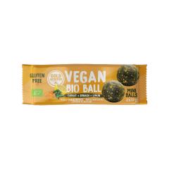 Bile vegane bio mini– Morcov, spanac și lămâie 2x17gr Gold Nutrition