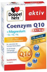 Aktiv Coenzima Q10 extra-magneziu x 30 cps, Doppelhertz