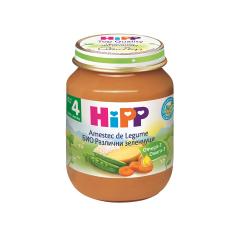Amestec de legume, BIO, 4+ luni, 125g, HIPP