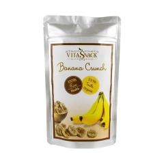 Felii banane crocante, bio, 28g, VITASNACK