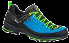 Ghete barbati Salewa Mountain Trainer 2 GTX, bleu, 40 1/2