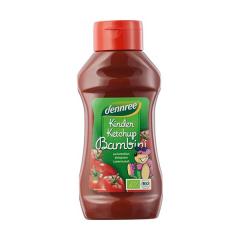 Ketchup pentru copii indulcit cu nectar de agave, 500g, Dennree