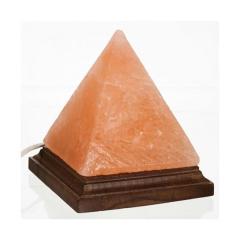 Lampa din cristale de sare piramida -USB Monte