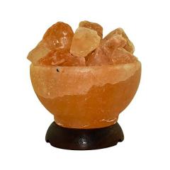 Lampa electrica din cristale de sare ''minge de foc'' Monte