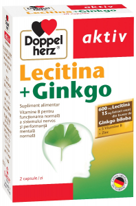 Akt Lecitina + Ginkgo x 30cps, Doppelhertz