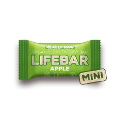 Lifebar baton cu mere raw, BIO, 25g, LIfebar
