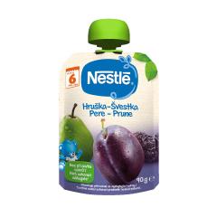Piure din pere si prune, 6+ luni, 90g, Nestle