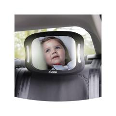 Oglinda retrovizoare cu lumina, Easy View XXL, Diono