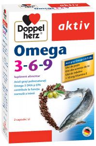 Aktiv Omega 3-6-9 x 30cps, Doppelhertz