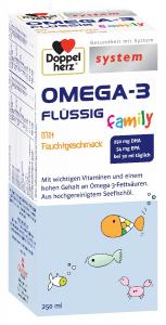Aktiv System Omega-3 Familly sirop 250 ml, Doppelhertz