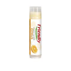 Balsam de buze, citrice, Friendly Organic