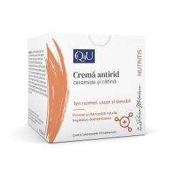 Q4U Crema antirid cu ceramide,50ml, TIS