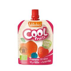Cool Fruits - suc de mar, capsuna, afina si acerola, 90g, Vitabio