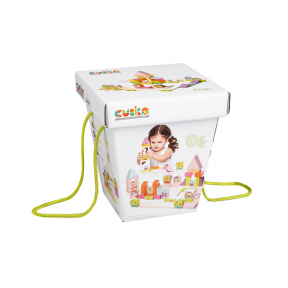 Jucarie Din Lemn, Cubika - Kit De Constructie Pentru Fetite