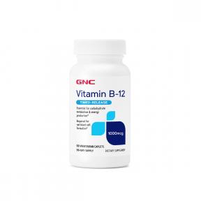 Vitamin B-12 1000mcg, 90 tb, GNC