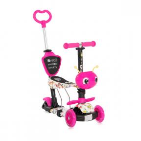 Trotineta Smart Plus, Pink Butterfly, Lorelli