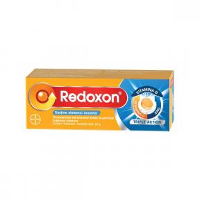 Redoxon Triple Action C+Zn+D, 10 comprimate efervescente, Bayer