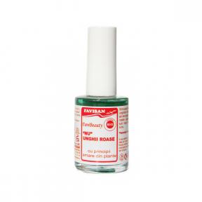 Tratament NU unghii roase 2 in 1 Favibeauty, 14ml, Favisan