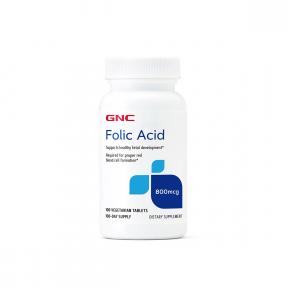 Folic acid 800mcg, 100 tablete, GNC