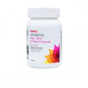 Women's hair, skin & nails formula petru par, piele si unghii, 90 tablete, GNC