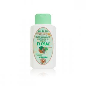 Gel de dus cu propolis, Floral, 250ml, Complex Apicol Veceslav