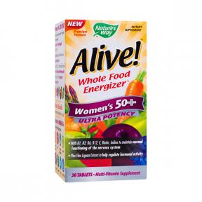 Alive! Women's 50+ Ultra, 30 tb, Secom