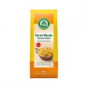 Amestec de condimente garam masala, BIO, bucataria indiana, 40g,  LEBENSBAUM