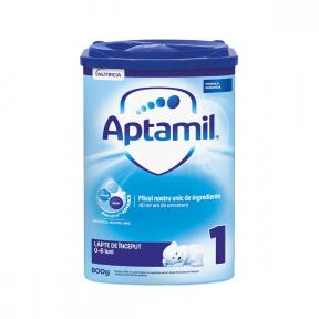 Lapte praf, formula de inceput, 0-6 luni, Aptamil 1, 800G, Nutricia