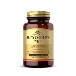 B-Complex, 50 capsule, Solgar