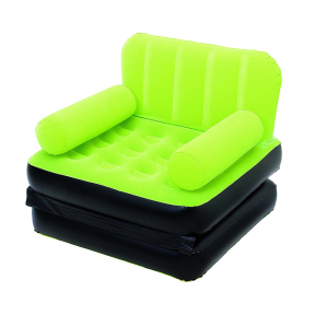 Fotoliu gonflabil plusat, verde, 191x97x64cm, 2.55kg, Bestway