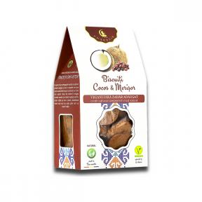 Biscuiti, cocos si merisor, 150 g, Ambrozia