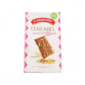 Biscuiti Cereabel, fara zahar, 220g, Campiello