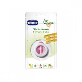 Brosa parfumata cu ulei din Lemongrass + sistem de agatare , 3ani+, Chicco