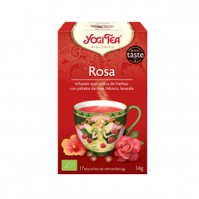 Ceai de trandafiri, 17 pliculete, Yogi Tea