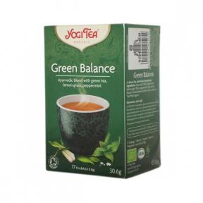 Ceai Echilibru verde, BIO, 17 pliculete, 30,6g, Yogi Tea