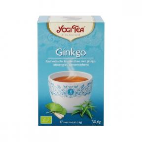 Ceai Ginkgo, 17 plicuri, BIO, Yogi Tea