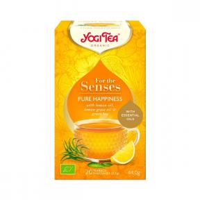 Ceai cu uleiuri esentiale fericire, 20 plicuri, BIO, Yogi Tea