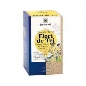 Ceai flori de tei ECO, 18 plicuri, SONNENTOR