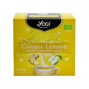 Ceai cu ghimbir, lamaie si mar, 12 plicuri, BIO, Yogi Tea