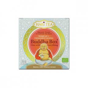 Ceai premium Budha Box ,cutie cu toate cele 11 ceaiuri Hari Tea, BIO, 11dz