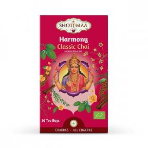 Ceai BIO - Harmony - chai clasic, 16 pliculete, Shotimaa Chakras