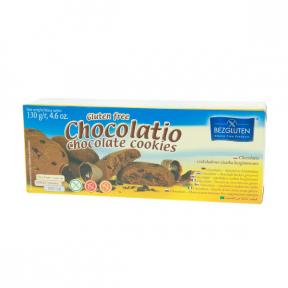 Biscuiti cu ciocolata, fara gluten,130g, BEZGLUTEN