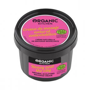 Crema modelatoare de masaj pentru corp, Honey And The City, Organic Kitchen
