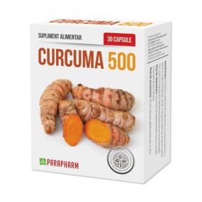 Curcuma 500, 30 capsule, Parapharm