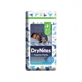 Drynites medium Boy 4-7 ani (17-30 Kg) chilotei de noapte - HUGGIES